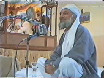 His Holiness Riaz Ahmed Gohar Shahi blessing a...