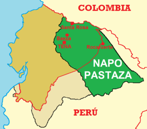 Provincia de Pastaza  Wikipedia la enciclopedia libre