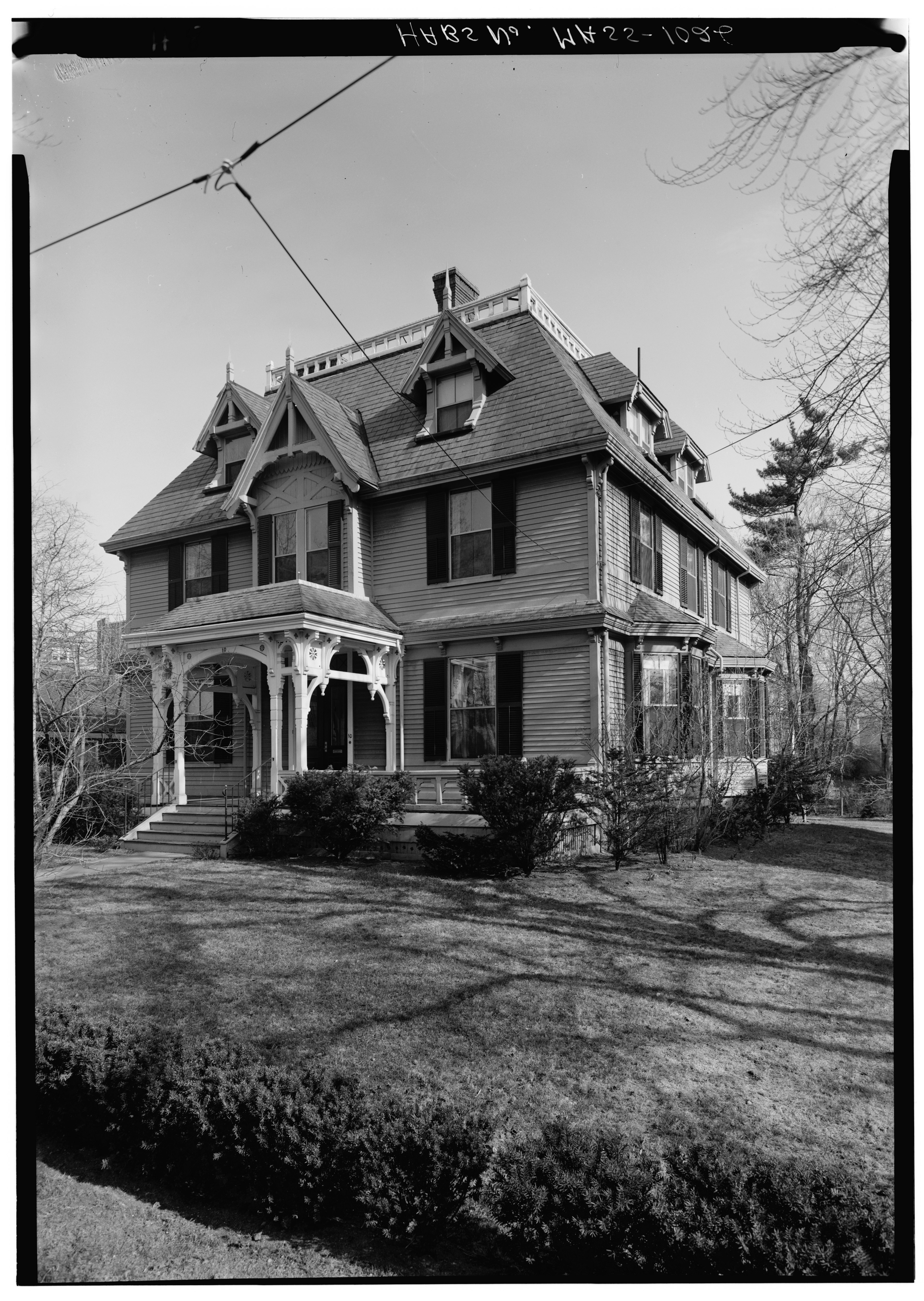 File Historic American Buildings Survey George M Cushing Photographer October 1967 General