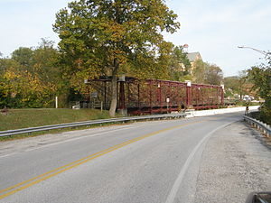 Savage Mill Trail - The historic Bollman truss bridge was built in 1869 and is the last of its kind in the country. It is preserved as a National Historic Landmark and sits at the trailhead of the Savage Mill Trail
