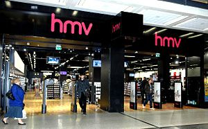 English: HMV, Manchester Arndale