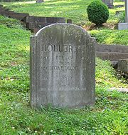 Hollerith's grave at Oak Hill Cemetery in Washington, D.C.