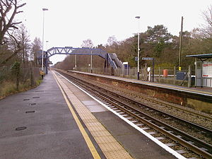 Holton Heath railway station - Image: Holton Heath Station