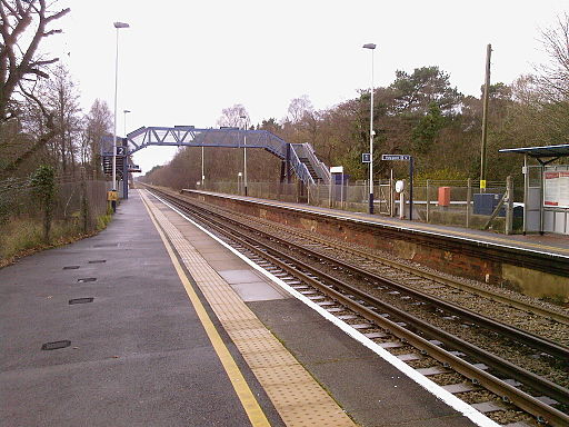 Holton Heath Station
