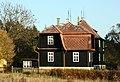 Holzhaus in Franzensbad im Herbst.JPG