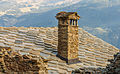 Homene Dessus, Combellin, Valle d'Aosta. Detail van oud huis 11.jpg