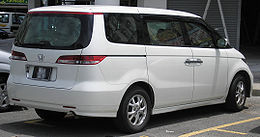 Honda Elysion (first generation) (rear), Serdang.jpg