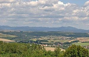 Nitra Region - Image: Hontvarsány Siklósról