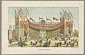 Hoofdingang van de Wereldtentoonstelling in Amsterdam, 1883 Hoofdingang (titel op object) Herinnering aan Amsterdam in 1883 (serietitel op object), RP-P-OB-89.751-2.jpg