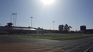 Hornet Stadium (Sacramento) - Image: Hornet Stadium (Sacramento St.)
