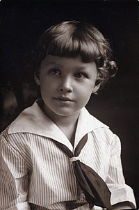 Tennessee Williams (age 5) in Clarksdale, MS.