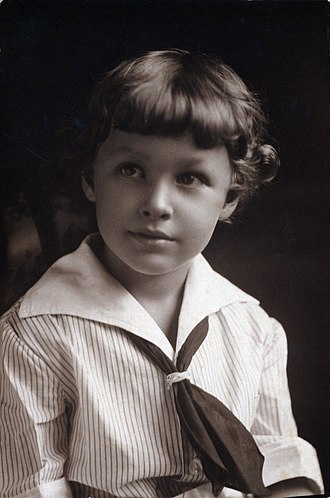 Tennessee Williams - Tennessee Williams (age 5) in Clarksdale, MS.
