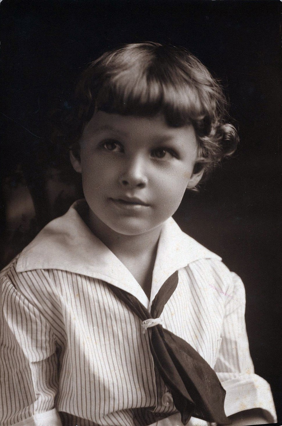 Houghton - MS Thr 553 (6). Tennessee Williams age 5