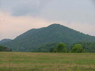 House Mountain (Knox County, Tennessee) - Image: House Mountain TN