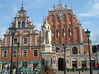 House of the Blackheads, Riga, Latvia-24June2009.jpg
