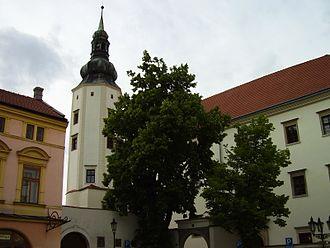 Hranice (Přerov District) - Image: Hranice kostol
