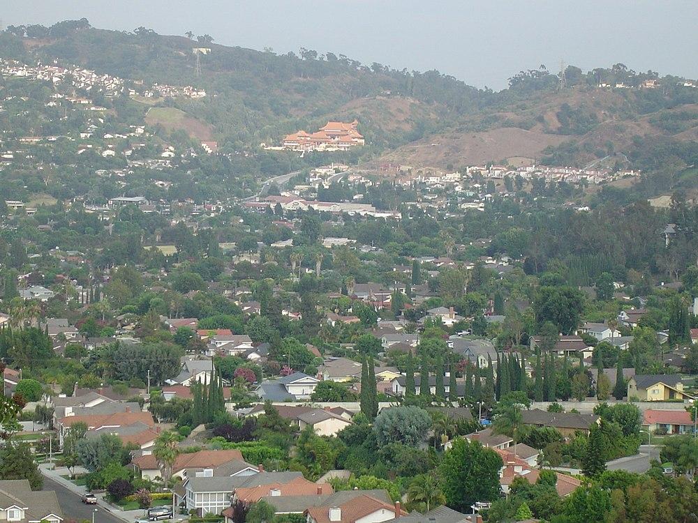 The population density of Hacienda Heights in California is 1864.67 people per square kilometer (4829.13 / sq mi)