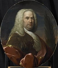 Portrait of Hugo du Bois, Director of the Rotterdam Chamber of the Dutch East India Company, elected 1734
