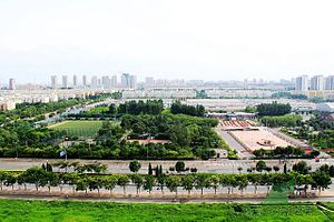 Huilongguan - The sports park in Huilongguan