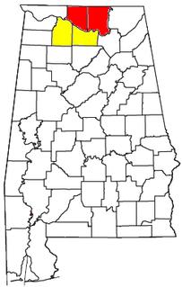Decatur metropolitan area, Alabama Statistical Area in Alabama