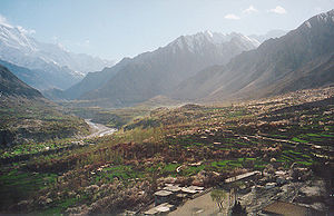Ganish - Hunza valley river