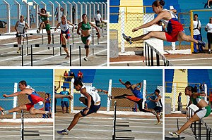 Hurdling - A sequence of hurdling