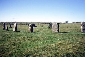 The Hurlers (stone circles) - The north circle