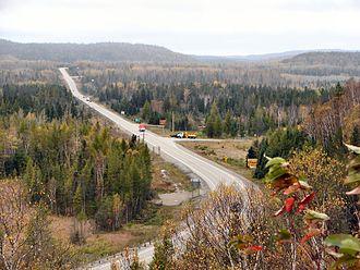 Ontario Highway 17 - Highway 17 near Wawa