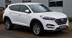 Hyundai Tucson 1.7 CRDi 2WD Trend (III) – Frontansicht, 28. Februar 2016, Düsseldorf.jpg
