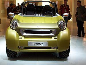 Smart Crosstown - Image: IAA2005 smart crosstown frontohne