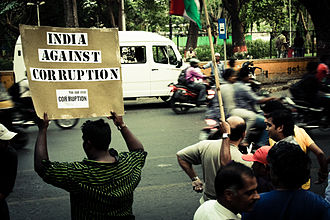 2011 Indian anti-corruption movement - India Against Corruption protesters in Pune, April 2011