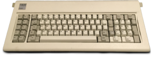 Model F keyboard - Image: IBM Model F XT
