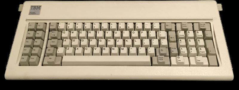 Teclado del IBM XT