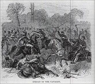 Battle of Tatayibá - Cavalry in Paraguayan War.