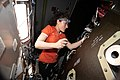 ISS-59 Christina Koch works inside the Tranquility module.jpg