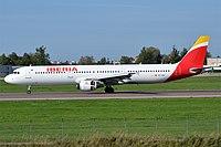 EC-IXD - A321 - Iberia