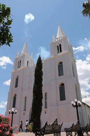 Granados, Sonora - Saint Isidro Labrador Church, local temple.