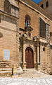 Iglesia of the Encarnacion, entrance, Alhama de Granada, Andalusia, Spain.jpg