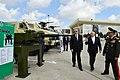 Ilham Aliyev viewed 3rd Azerbaijan International Defense Exhibition ADEX 2018 04.jpg