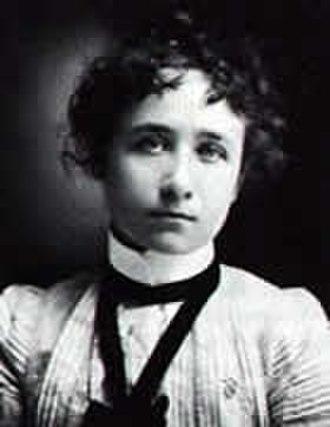 Gabriele Münter - Gabriele Münter in 1900