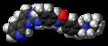 Imatinib molecule spacefill.png