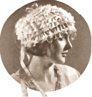 Frank Tinney - Imogene Wilson in The Delineator (vol. 101, 1922)
