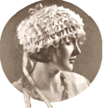 Mary Nolan - in The Delineator (1922)