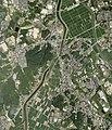 Inatsuki district Kama city Aerial photograph.2007.jpg