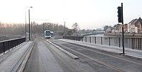 Inauguration de la branche vers Vieux-Condé de la ligne B du tramway de Valenciennes le 13 décembre 2013 (020).JPG