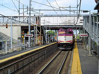 South Attleboro station Commuter rail station in Attleboro, Massachusetts