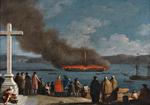 Incêndio da Fragata Graça Divina e S. João Baptista (1771) - Joaquim Manuel da Rocha.png