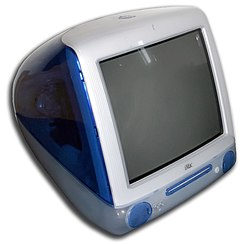 The slot loading iMac G3