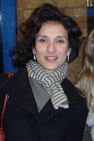 Indira Varma - Varma in January 2009