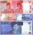 Indonesian Rupiah - 100 50.JPG